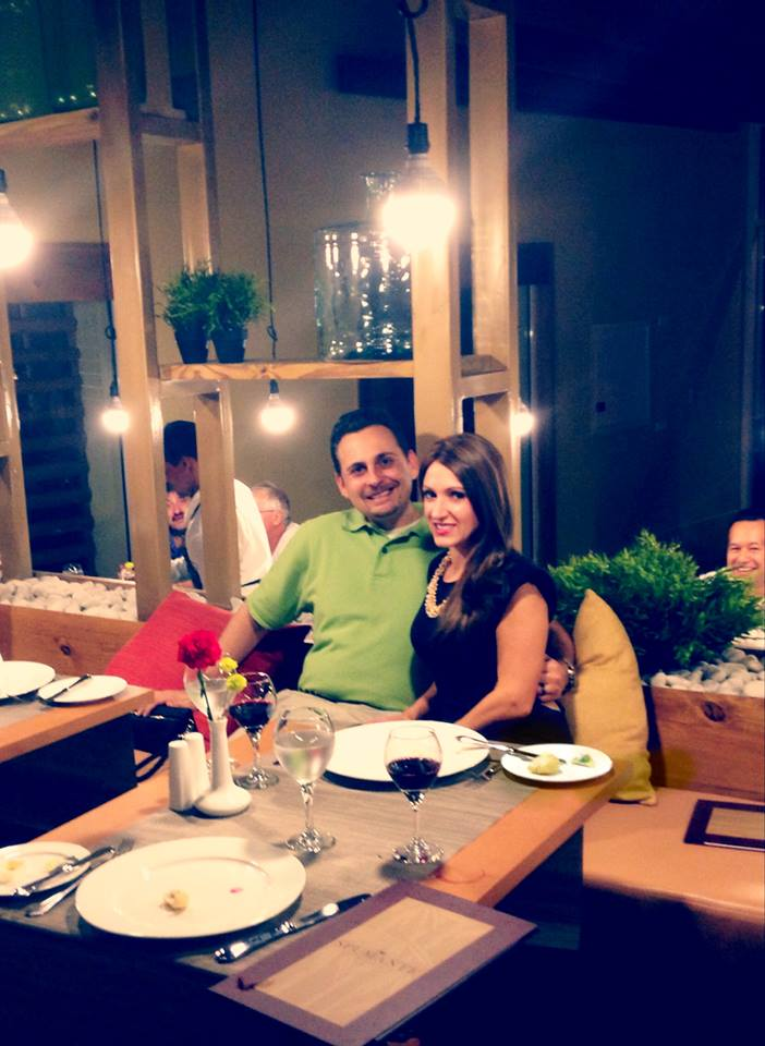Some of our first guests enjoy Spumante Italian restaurant. Thanks for tagging us Christina D.!