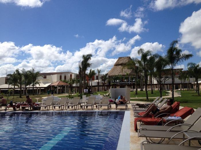 A great shot of the pool from Louise B.