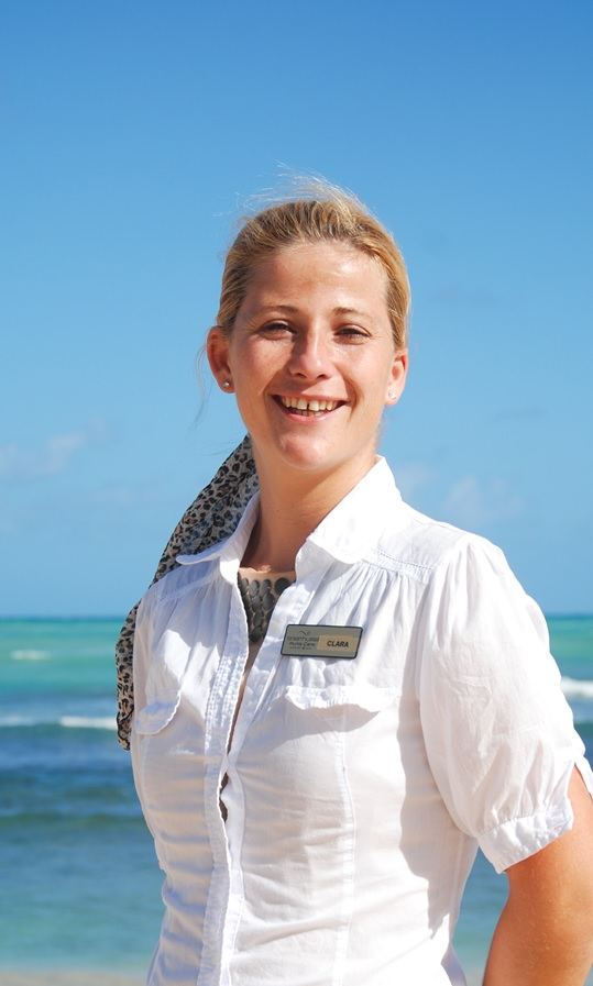 Clara Escribano is our General Manager. She likes reading and enjoying time with her family.