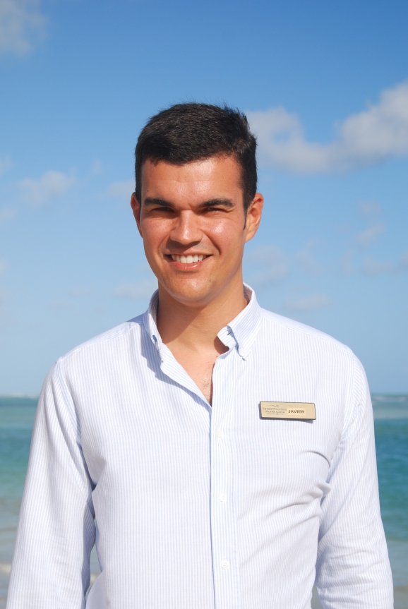 Resident Manager, Javier del Toro enjoys football and going to the beach!