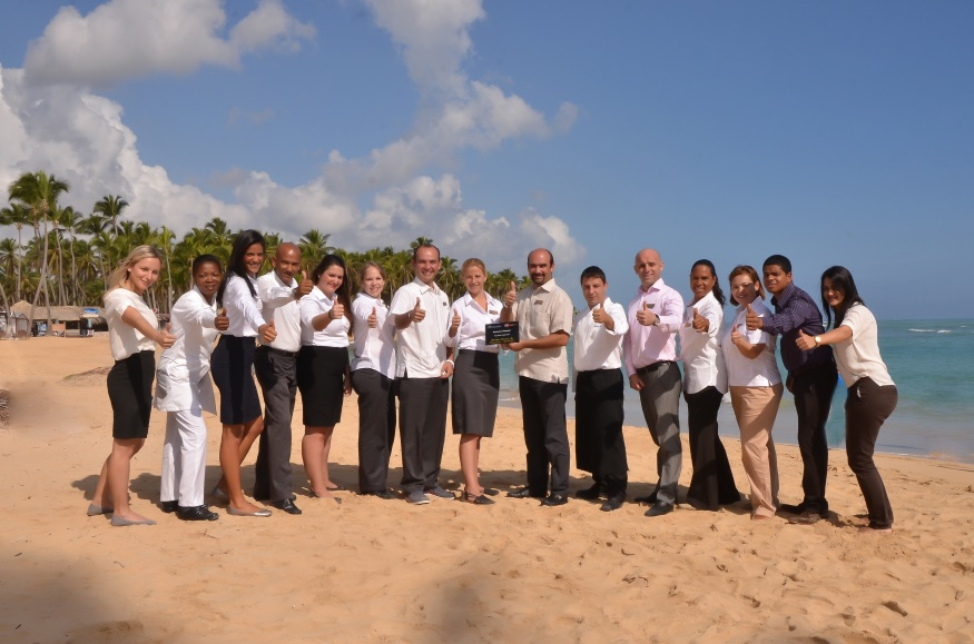 Congratulations to the team at Breathless Punta Cana!