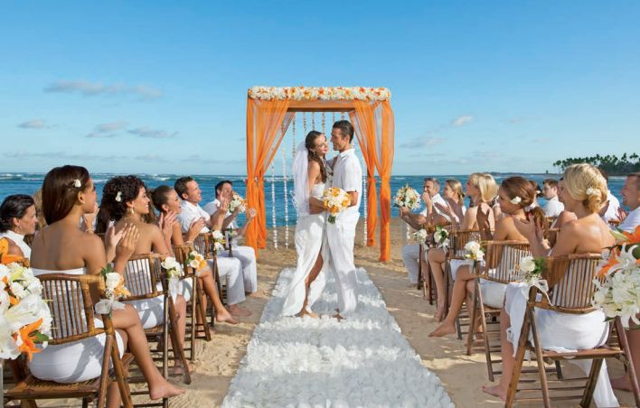begin your lives together surrounded by family and friends at breathless punta cana resort spa