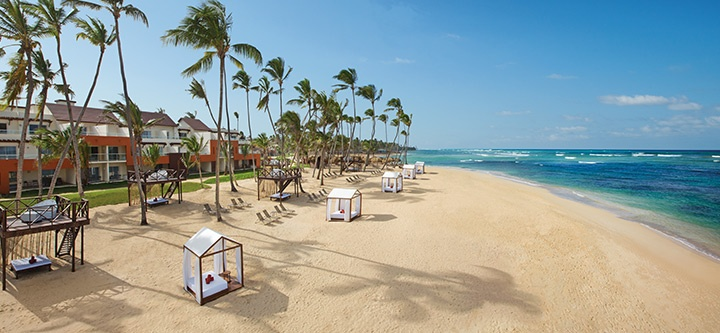 Situated on 370 yards of private, white-sand beach, Breathless Punta Cana makes every guest feel like a VIP.