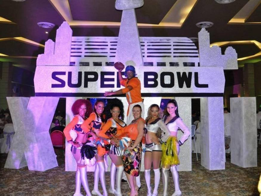 Our 2014 Super Bowl XLXIII party was a hit at Breathless Punta Cana Resort & Spa!
