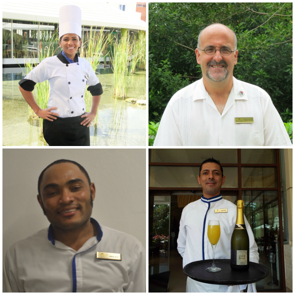 Congrats to Maritza Lance from the Food and Beverage Department at  Breathless Punta Cana , Alex Andrade the General manager of  Dreams Tulum , Orlando from Secrets Montego Bay and Martin, a waiter in the World Café at  Dreams Riviera Cancun .