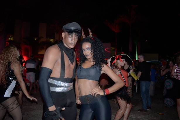 You don't want to miss out on Breathless Punta Cana's costume Halloween Ball