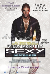 #SexySeptember DJ Willy Monfret